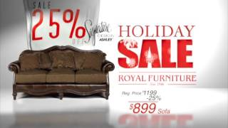 Royal Furniture 2015 Holiday Sale
