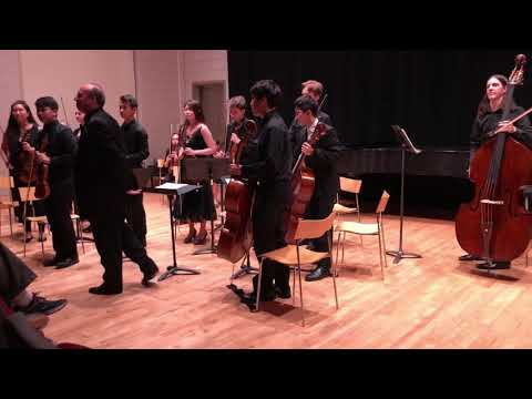 Lola Christiane performing with New York Summer Music Festival Chamber Orchestra 2018