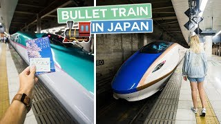 First Time Experiencing a Bullet Train | Japan Vlog
