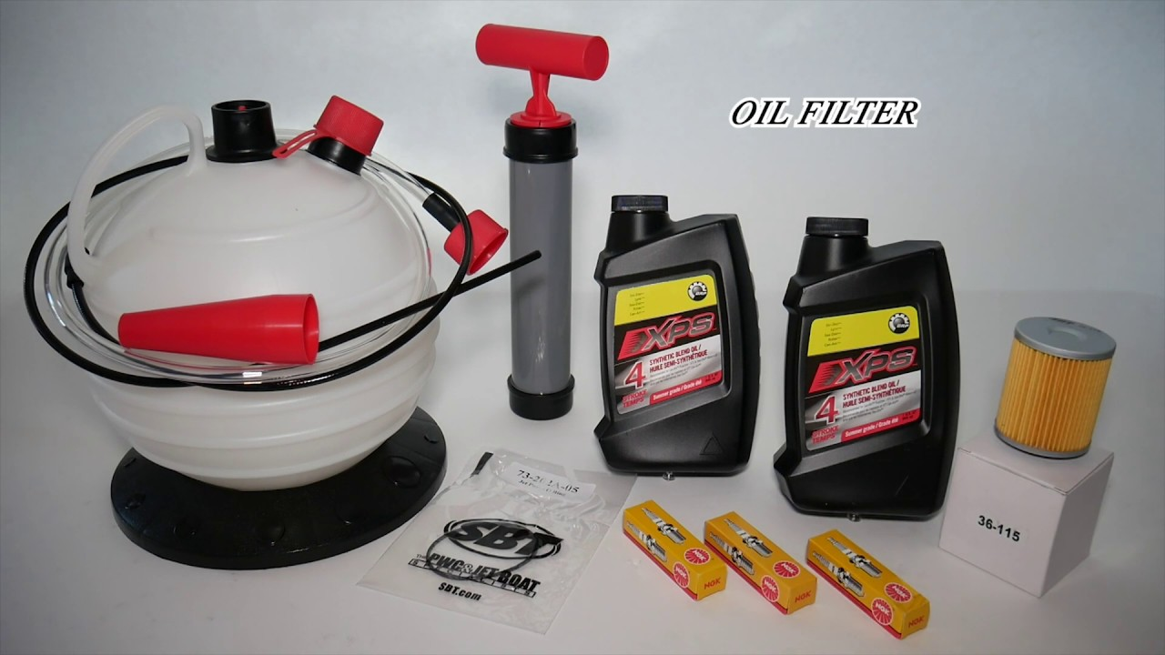 Sea-Doo Spark Oil Change Kit