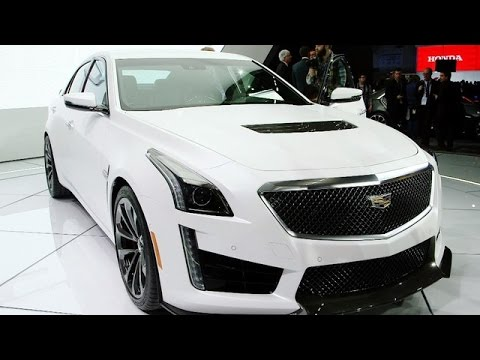 2016 Cadillac Ct6 3 0tt Awd 6 2l Supercharged V8 Engine Youtube