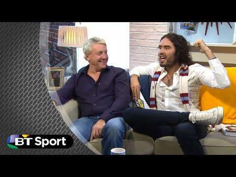 Russell Brand hammers Steve McManaman | BT Sport
