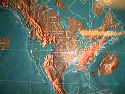 CONDITIONAL FUTURE MAP OF THE UNITED STATES AND WORLD YouTube - After the earthquake new map of us