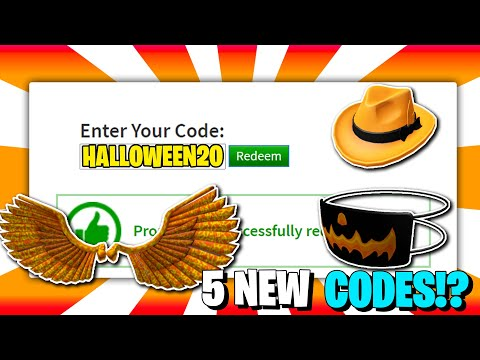 *4 Code!?* ALL NEW PROMO CODES In ROBLOX !?! (October 2020)