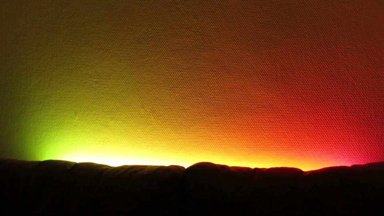 Ledstrip with several effects (FastLED)