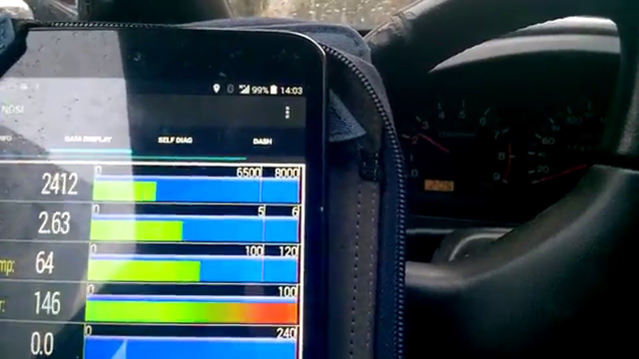 Nissan OBDI Bluetooth diag