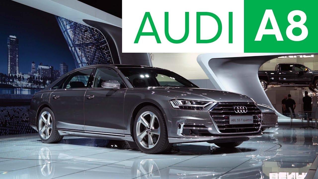 2017 LA Auto Show: 2019 Audi A8 | Consumer Reports - YouTube