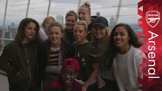 Arsenal Ladies visit Seattle's famous Space Needle