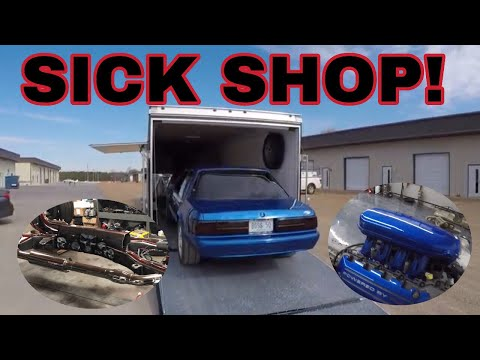 We Stumble across a crazy shop while picking up another Coyote Swap Project