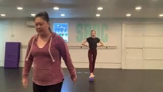 Pirouette technique class