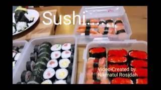 Cara Mudah Membuat Sushi.