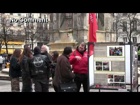 Action antifasciste, Paris, 21.02.2015