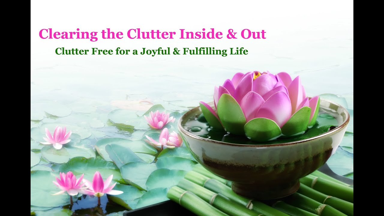 Clearing the Clutter Inside & Out Series Premiere with Julie Coraccio ...