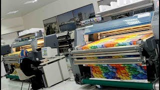 Modern Textile Printing Technology & Machine