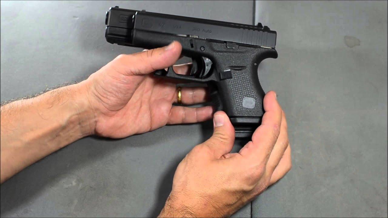Pistola Glock 42 em 380 ACP - YouTube
