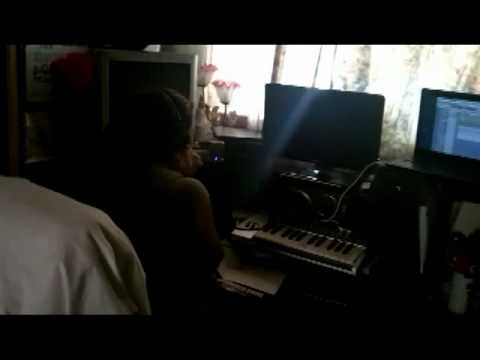 Studio Session With Eazy Vee. And Freddy C..
