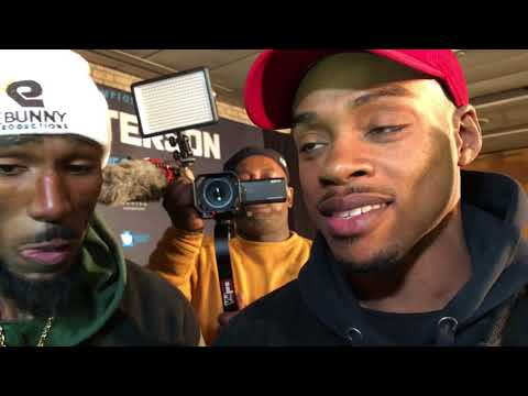 Errol Spence and Robert Easter joint interview