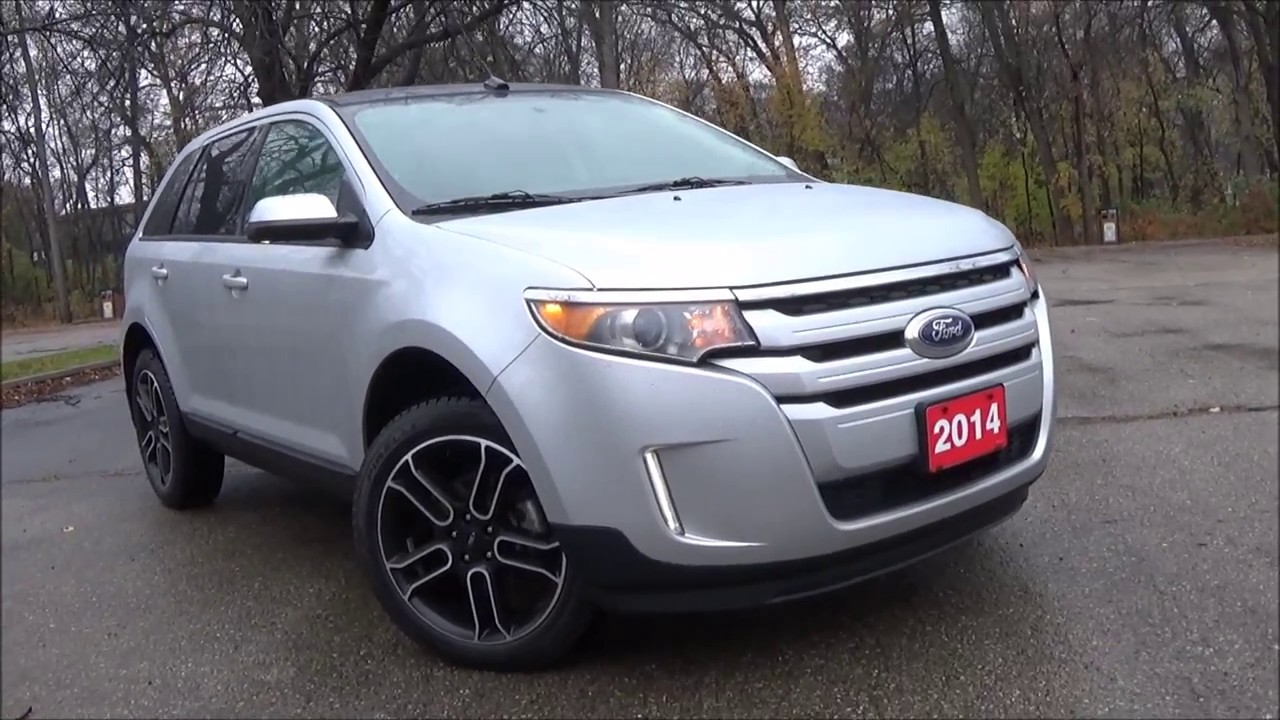 2014 Ford Edge Sel >> 2014 Ford Edge SEL AWD Review - YouTube