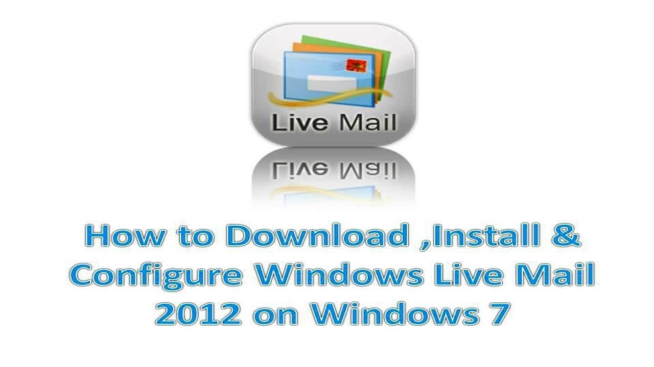 windows live mail download full