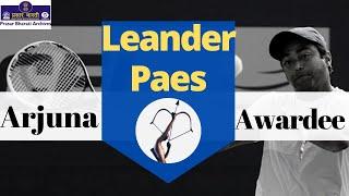 Arjuna Awardee | Leander Peas | Tennis Player