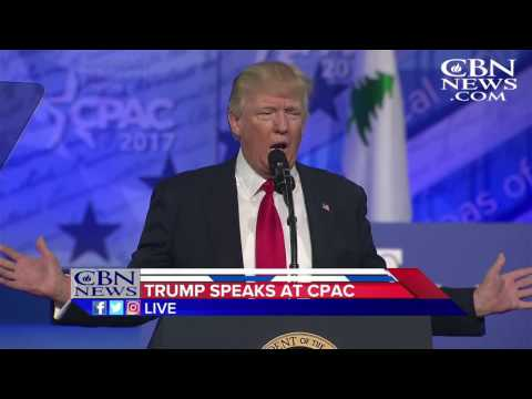 Trump to CPAC: 'I'm Not Representing the Globe - I'm Representing Your Country'