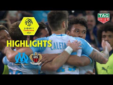 Olympique De Marseille - OGC Nice ( 1-0 ) - Highlights - (OM - OGCN) / 2018-19