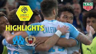 Olympique de Marseille - OGC Nice ( 1-0 ) - Highlights - (OM - OGCN) / 2018-19