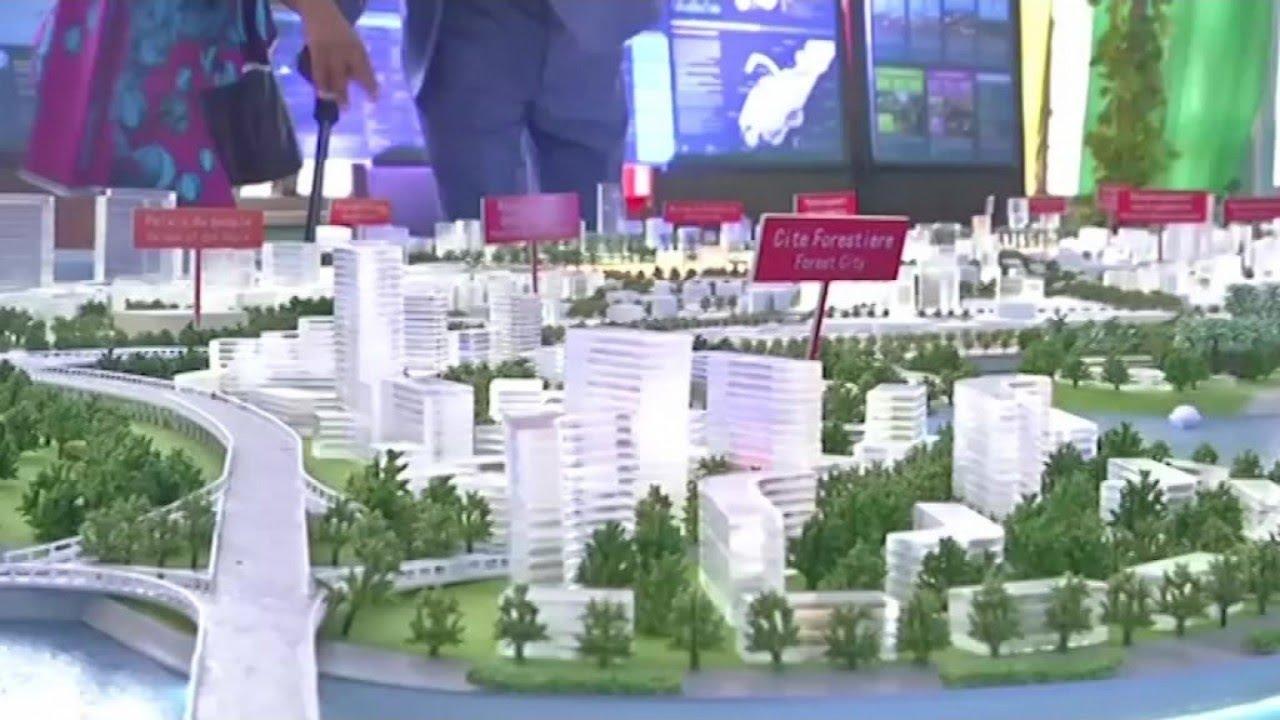 Grand Conakry vision 2040: la maquette du schéma directeur présenté au chef de l'Etat