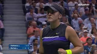 Бьянка Андрееску – Элизе Мертенс. US Open-2019. Обзор матча