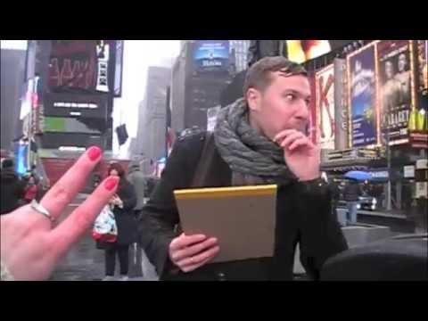 Поездка на Манхеттен в гости к Стиву Джобсу! Manhattan,  Times  Square. Смотрим, 15 серия