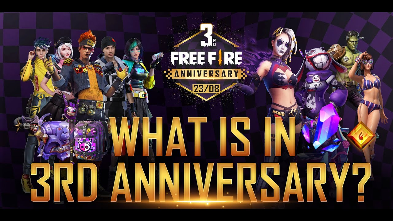WHAT'S IN FREE FIRE 3RD ANNIVERSARY?!