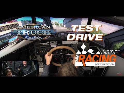 American Truck Simulator First Look with AccuForce Pro