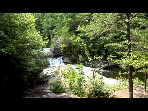 Exploring Hunt Fish Falls in Avery County North Carolina