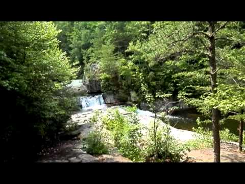 Exploring Hunt Fish Falls in Avery County North Carolina