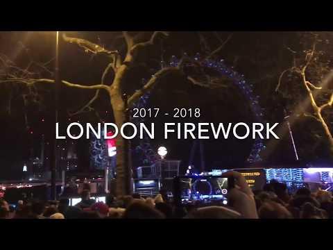 2017 - 2018 London Firework Show