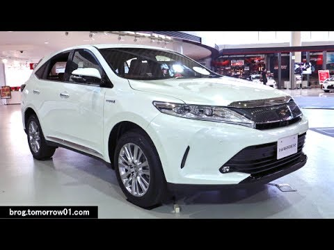 """Toyota Harrier Hybrid Progress """"Metal And Leather Package"""" : White"""