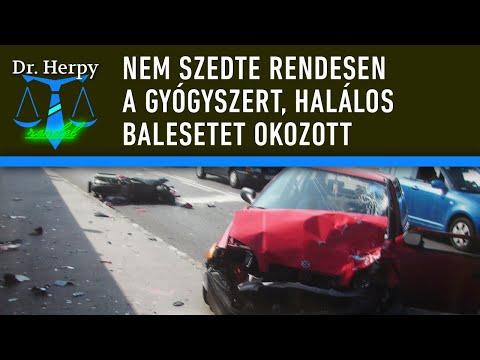 Dr. Herpy Rendel 21.: Nem szedte rendesen a gyógyszert, halálos balesetet okozott thumbnail