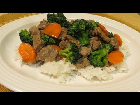how to cook beef broccoli youtube