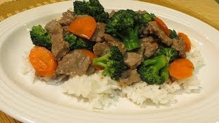 Beef with Broccoli - How to make Beef & Broccoli - Chinese Food Recipe