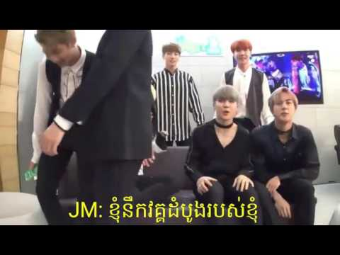 Bts Stage Reaction Blood, Sweat & Tears khmer Sub