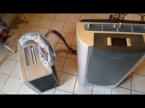 delonghi klimager t pac an96 unpacking test funnycat tv. Black Bedroom Furniture Sets. Home Design Ideas