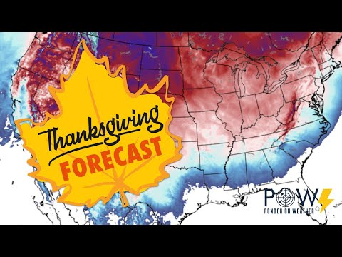 Thanksgiving Forecast - POW Weather Channel