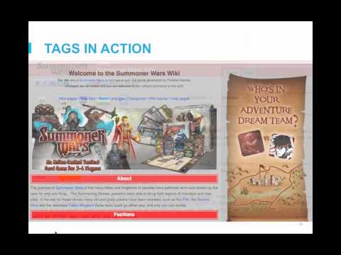 Mainpages 101 - How to make a great main page for your wiki