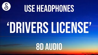 Download Olivia Rodrigo - drivers license (8D AUDIO)