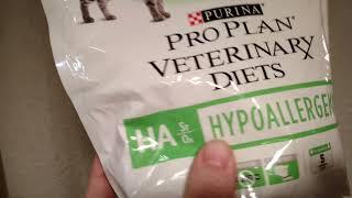 Purina Pro Plan диетический корм для кошек гипоаллергенный