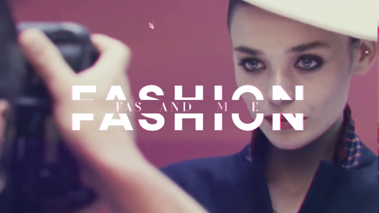 Royalty Free Fashion Promo Event After Effects Template