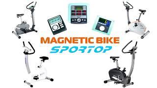 Видео о Велотренажер Sportop B800P Plus