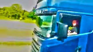 Crazy truck driver, lude kamiondije 130 km/h
