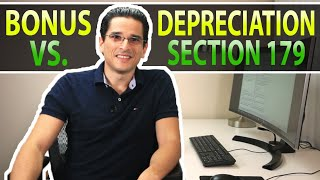 Bonus Depreciation vs. Section 179 - Which is better for YOUR business?
