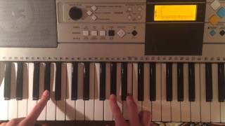 """Piano tutorial for """"Manta Ray"""" by J. Ralph & Antony"""